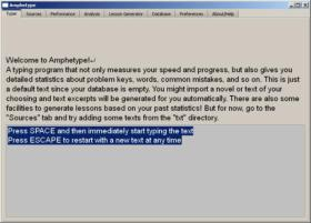 AmpheType Screen Shot 2