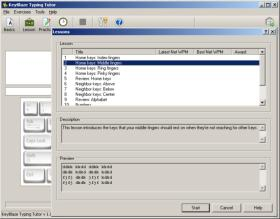 KeyBlaze Typing Tutor Screen Shot 2