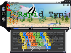 RapidTyping Screen 240x180px