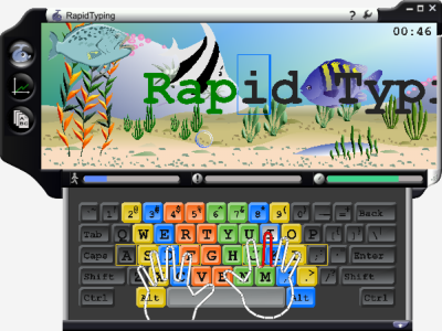 RapidTyping Screen 400x300px