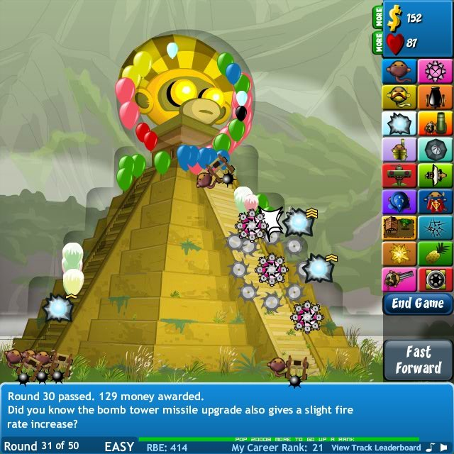 Unblocked Bloons Tower Defense 4 Hacked