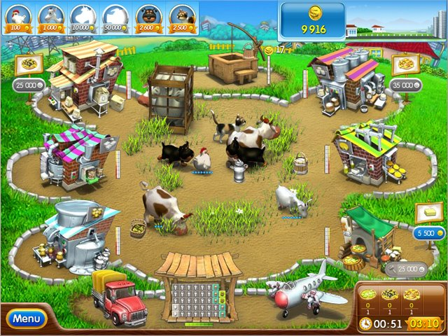 Online Games Farm Frenzy Pizza Party