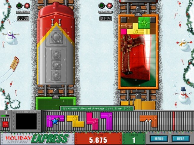 Online Games: Holiday Express