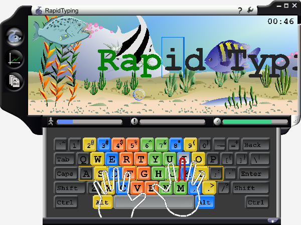 Typing Tutor: Link to Us