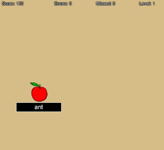 Fruits Typing